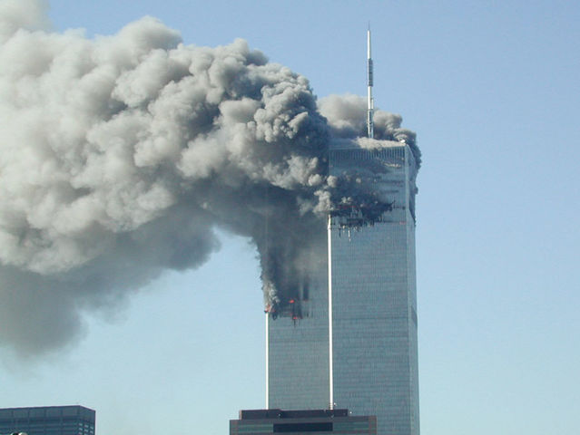 What year did the Taliban attack the World Trade Center Towers?