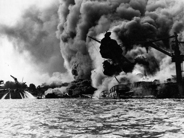 What year did the Japanese bomb Pearl Harbor