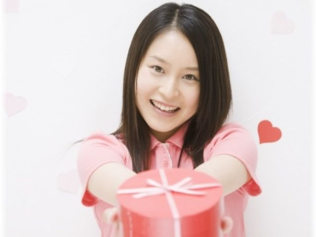 In Japan, it's customary for only the women to give candies to their sweethearts.