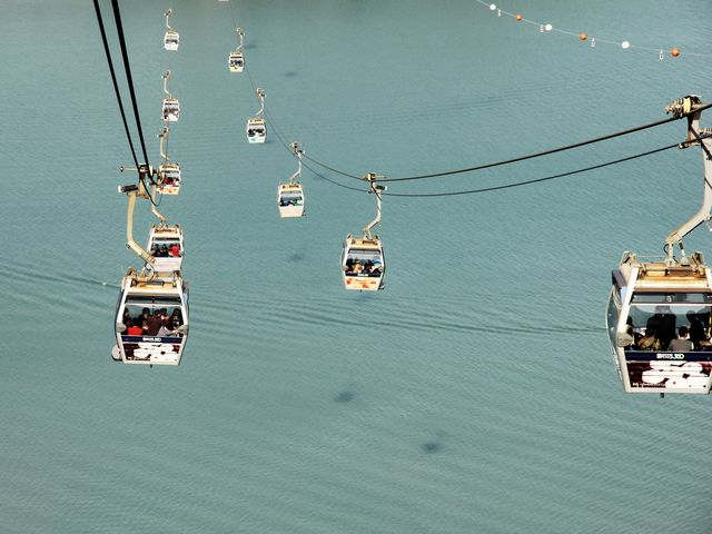 What is the name and where would you find these cable cars?