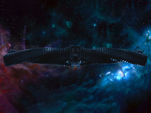"Ronan the Accuser's massive Kree warship in ""Guardians of the Galaxy"" was called:"