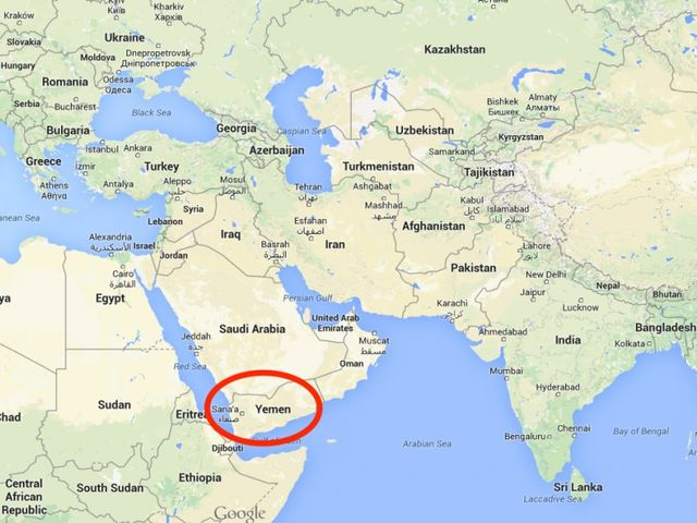 Yemen is extremely close to Africa, but it's still considered to be part of Asia!