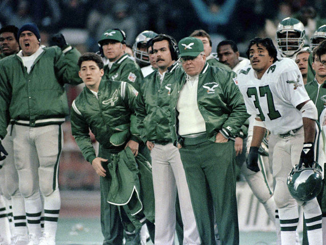 How many playoff games did the Eagles win while Buddy Ryan was head coach?