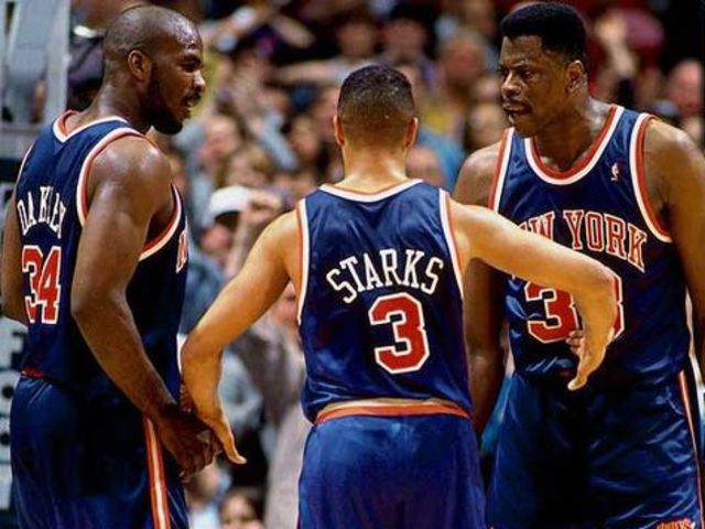 """See I've got heart like John Starks / hitting mad sparks / pass me the mic and I'll be rocking the whole park"" (1994)"