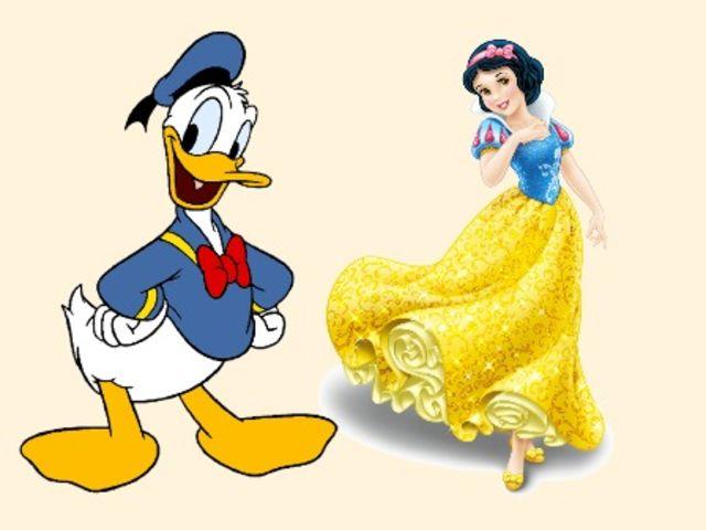 Erkennst Du die Disney-Charaktere anhand der Farben ihrer Outfits ...