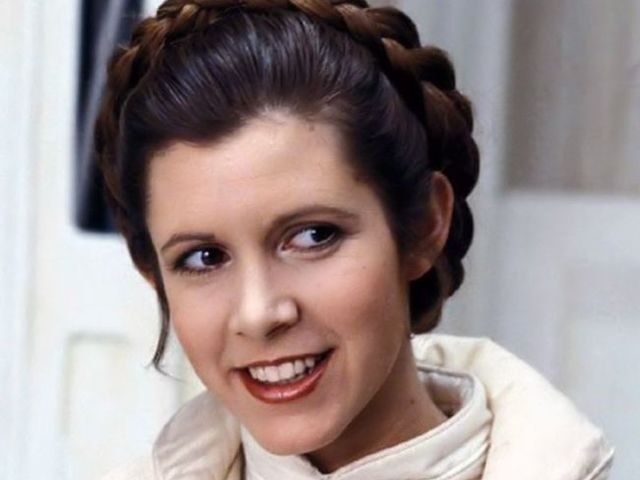 Carrie Fisher, American actress and writer passed away