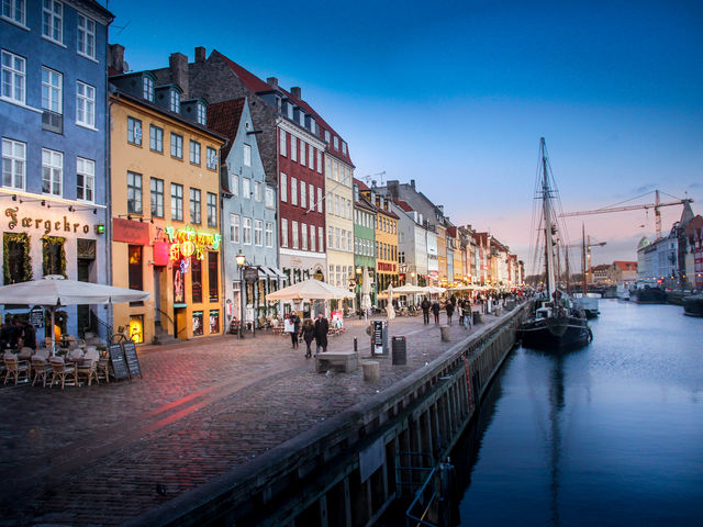 Copenhagen, Denmark, is a very popular destination in summer and a great option for a weekend getaway.