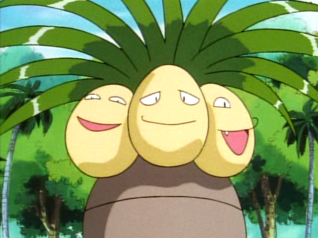 Exeggutor is half grass and half what type?