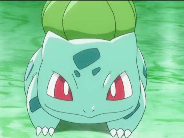 Bulbasaur is half poison-type!