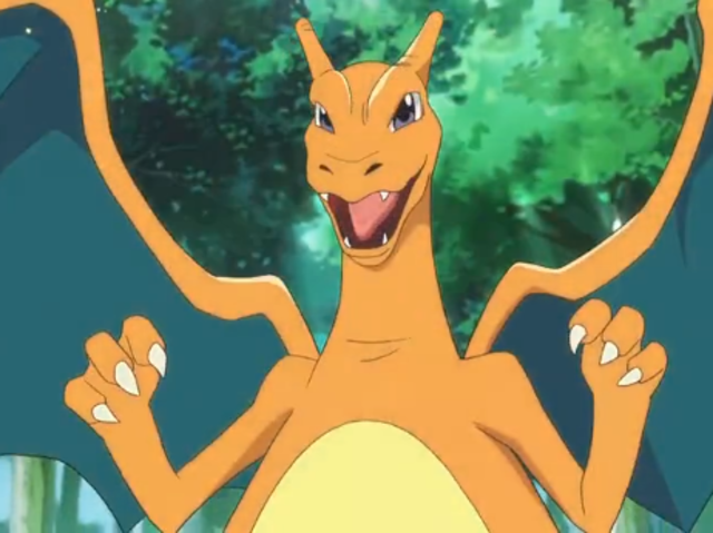 Charizard is half fire and half what type?