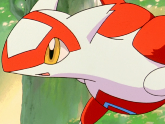 Latias is half dragon and half what type?