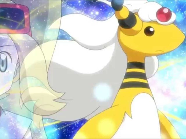 Mega Ampharos is half dragon-type!