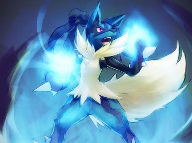 Lucario is half steel-type!