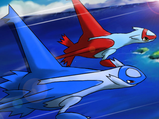 Latias is a half psychic-type Pokemon!