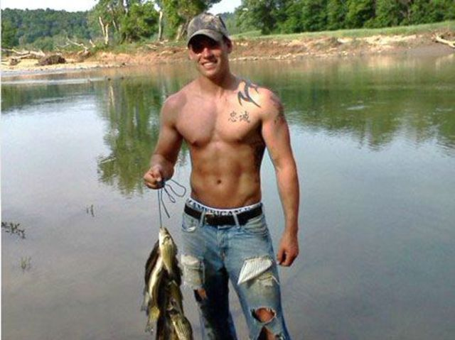 Muscular country boys