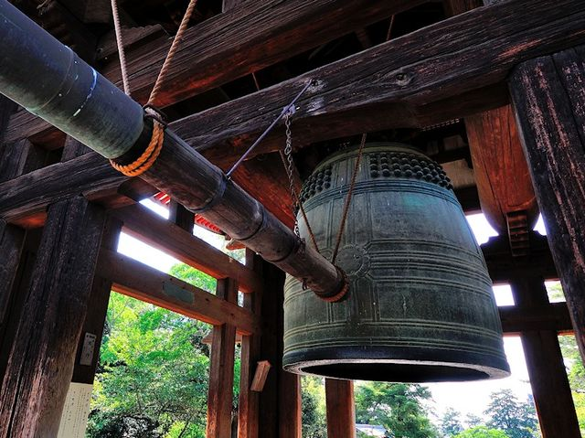 107 bells ring out on the last day of the year, and one bell rings out on the first day of the new year to dispel the 108 evil passions that humans have.