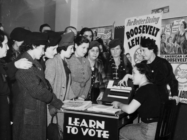 Which constitutional amendment granted women the right to vote?