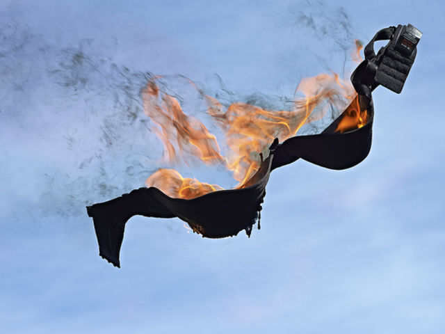True or false: second-wave feminists burned their bras in protest for over a decade.