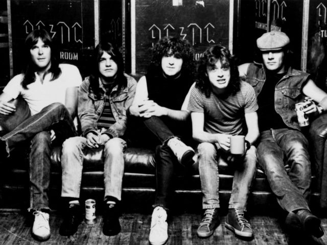 Which of these songs is from the band AC/DC