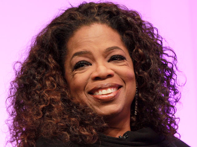 What has Oprah said is the greatest joy she has ever known?