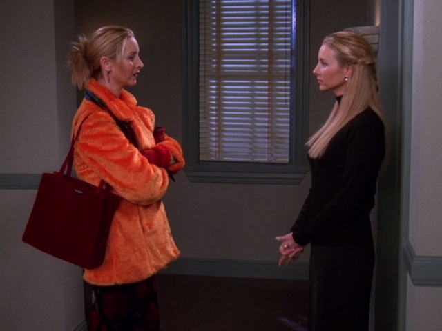 Who's the older twin, Phoebe or Ursula?