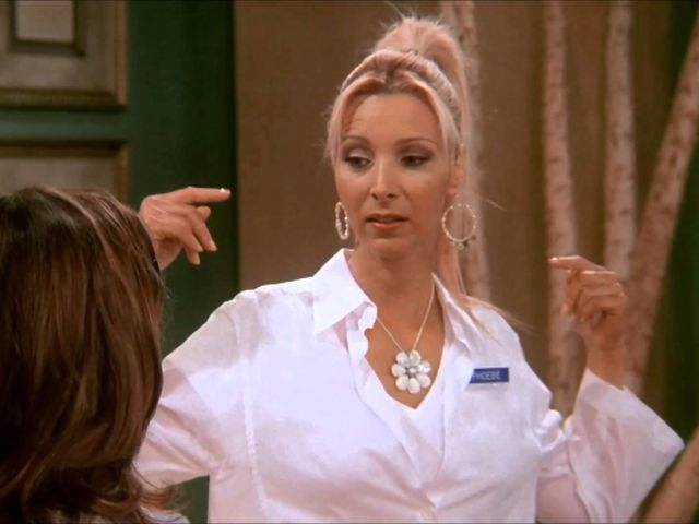 How did Phoebe get hepatitis when she was younger?