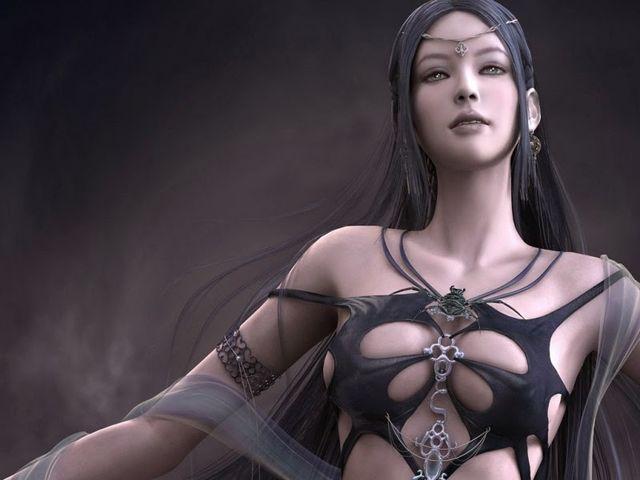 Сексуальная богиня etain из shaiya