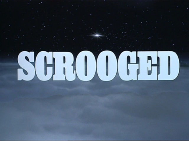 "Who starred in ""Scrooged""?"