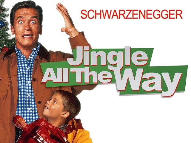 "Arnold Schwarzenegger starred in ""Jingle All The Way""!"