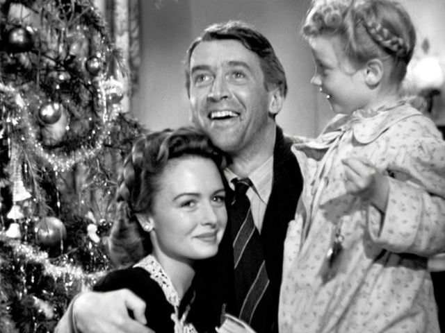 "Jimmy Stewart starred in ""It's A Wonderful Life""!"