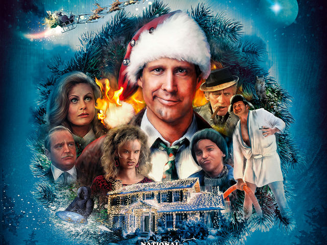 "Chevy Chase starred in ""National Lampoon's Christmas Vacation""!"