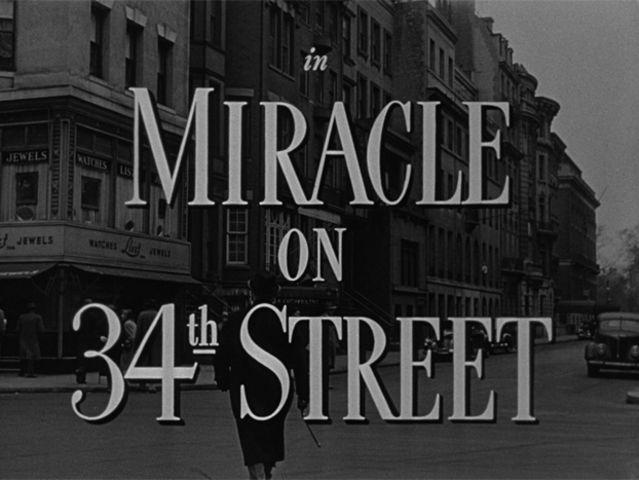 "Who starred in the 1947 film ""Miracle on 34th Street""?"