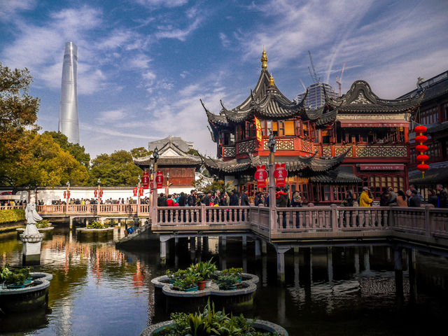 Shanghai, China, has the perfect mix between cultural tradition and modernity.