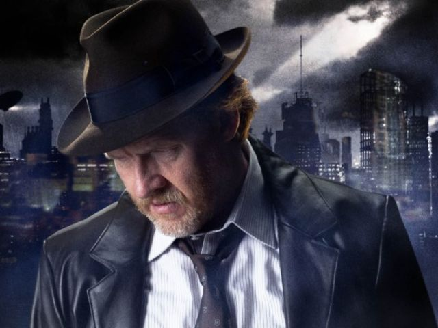 Who was Harvey Bullock's partner before Jim Gordon?