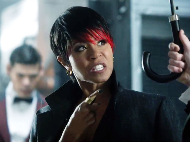 When Gordon meets Fish Mooney she works for ...
