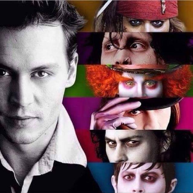 Johnny Depp Collage 10500 Loadtve
