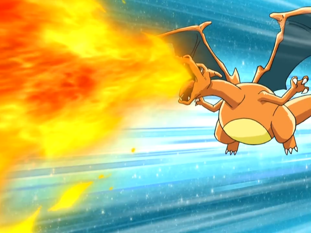 Charizard is half flying-type!