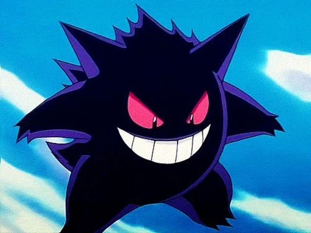 Gengar is half poison-type!