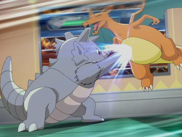 Rhydon is a half rock-type Pokemon!
