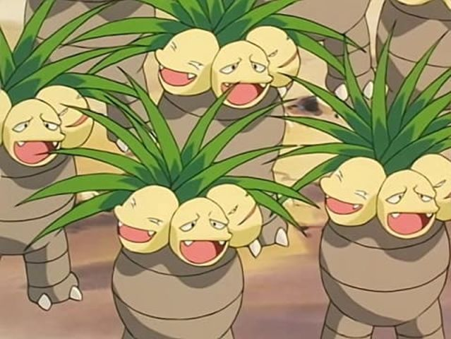 Exeggutor is half psychic-type!