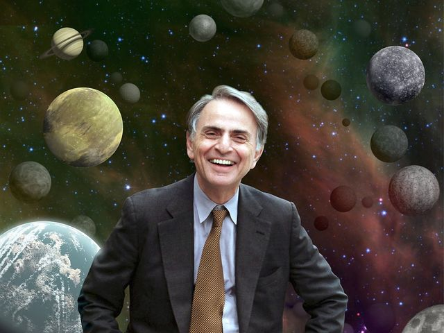 This quote is from Carl Sagan, astrophysicist, cosmologist and author.