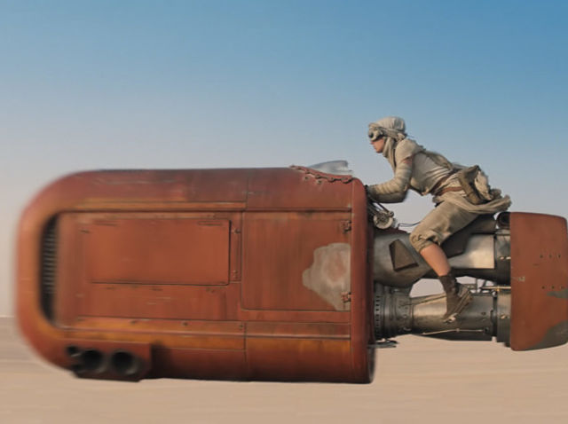 Rey's speeder was built by: