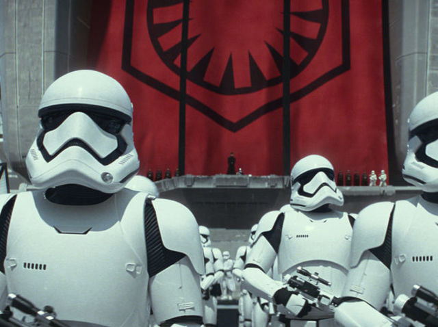 How did the First Order amass their power?