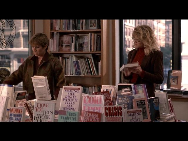 How many years after they separate again, do they run into each other in a bookstore?