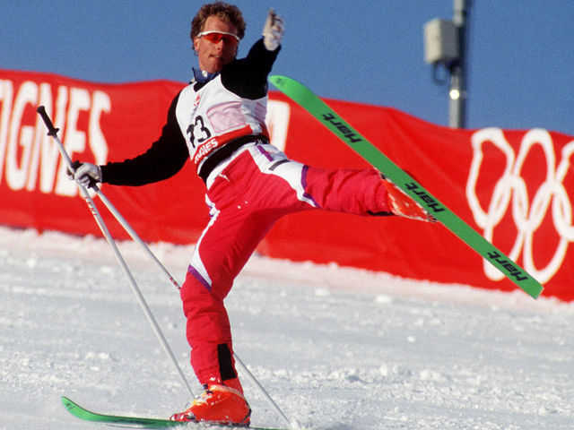 Ski ballet (aka acroski) was a demonstration sport at the 1988 and 1992 Winter Olympics.