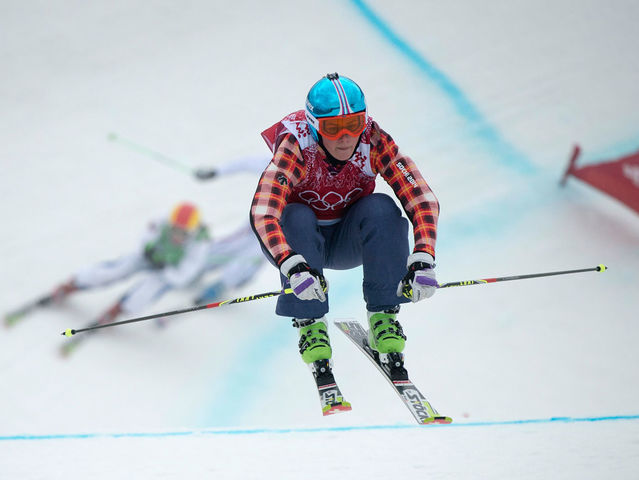 "Ski Cross is the perfect ""cross"" between a freestyle and alpine skiing event."