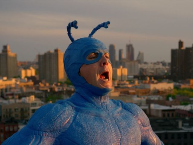 Which of the following superpowers does the tick not possess?