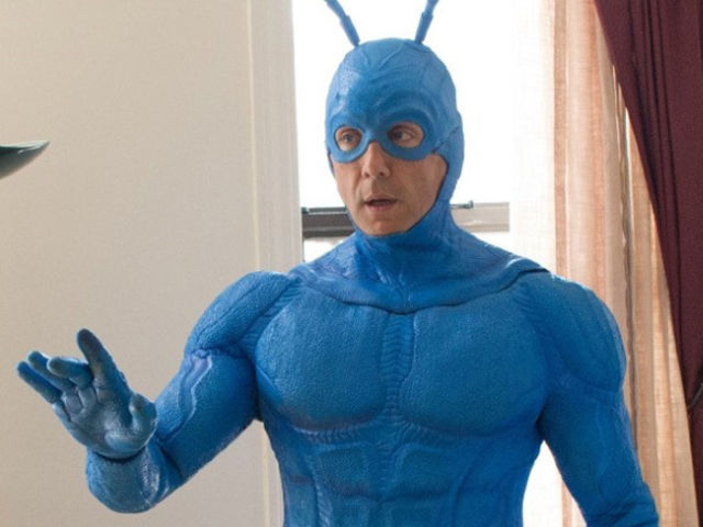 Peter Serafinowicz is the latest actor to hold the role of The Tick.