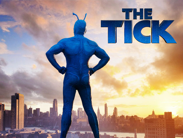 Who was the first actor to play the tick in a live-action show?