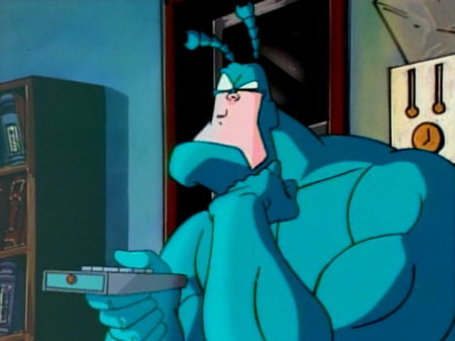 How many TV series has The Tick been made into?
